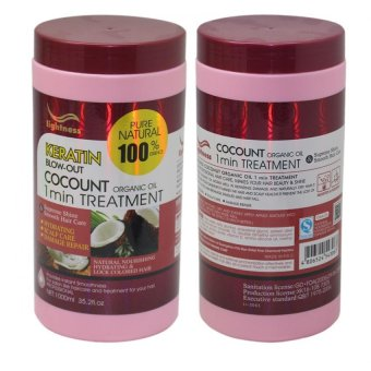 Harga Ligthness Keratin Blow-Out 1 Minute Treatment (Coconut)