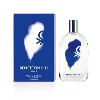 Harga United Colors of Benetton Blu Eau De Toilette for Men 100ml