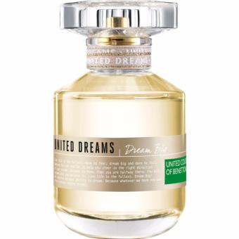 Harga United Colors of Benetton United Dreams Dream Big Eau de Toilette for Women 80ml