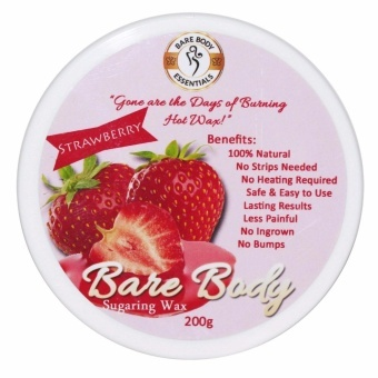 Bare Body Sugar Wax Strawberry (200g) Price Philippines