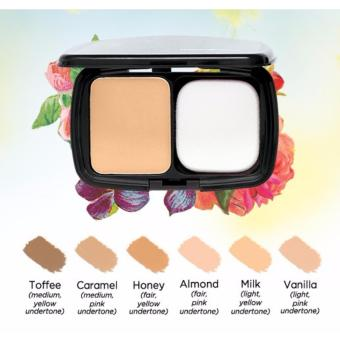 Harga Human Heart Nature Mineral Foundation (Caramel)