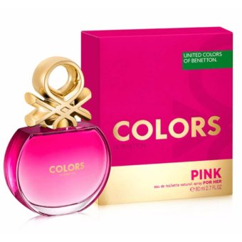 Harga United Colors of Benetton Colors Pink for Her