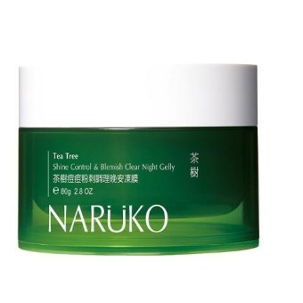 Naruko Tea Tree Shine Control & Blemish Clear Night Gelly 80g Price Philippines