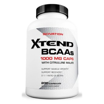 Harga Scivation- Xtend BCAAs- Capsules- 200 Count