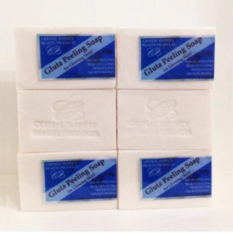 Crystal Infinity Beauty Products Gluta Peeling Soap 5+1 Price Philippines
