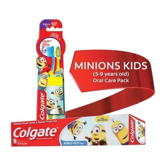 Harga Colgate Minions Kids (5-9 years old) Oral Care Pack
