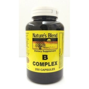 Nature's Blend B Complex, 250 Capsules Price Philippines