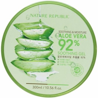 Nature Republic Soothing and Moisturizing Aloe Vera 92% Soothing Gel 300ml Price Philippines