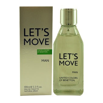 Harga United Colors Of Benetton Let's Move Eau De Toilette for Men 100ml