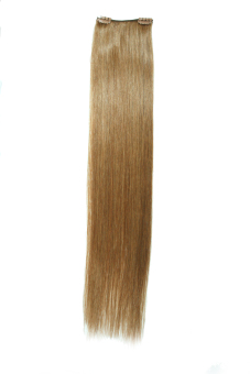 Harga Keira Clip On Hair Extensions 22 Inches Long Waist Length 2 Clips (Caramel Brown)