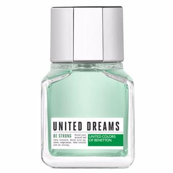 Harga United Colors of Benetton United Dreams Be Strong Eau de Toilette for Men 60ml
