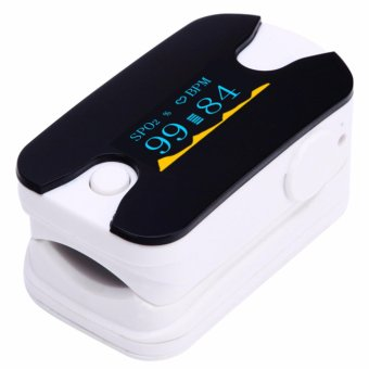 portable finger pulse oximeter fingertip pulse oximeter blood oxygen Monitor white - intl Price Philippines
