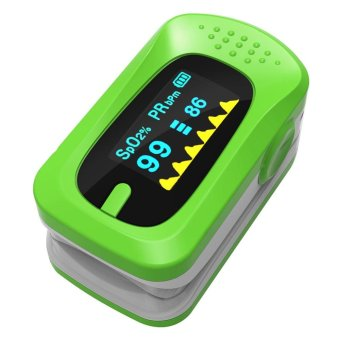 Fingertip Blood Pulse Oximeter Oxygen SPO2 OLED Pulse Heart Rate Monitor Oximeter - intl Price Philippines