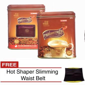 Baian Lishou Slimming Instant Coffee 10 grams x 15 sachet (Pack of 2) with FREE Hot Shaper Slimming Belt Price Philippines