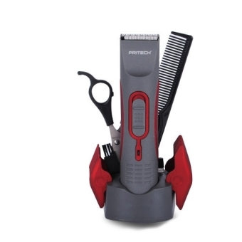 Pritech PR-760 Rechargeable Hair Clipper (Gray/Red) Price Philippines