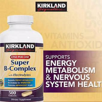 Kirkland Signature Super B complex Price Philippines