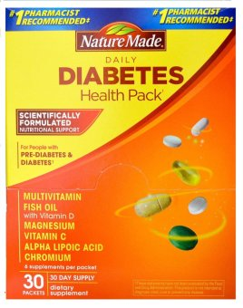 Harga Nature Made Daily Diabetes Health Pack
