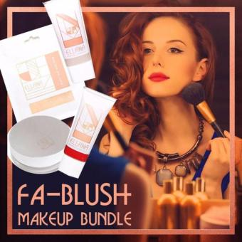 Harga Ellana Mineral Cosmetics Fa-blush Makeup Bundle