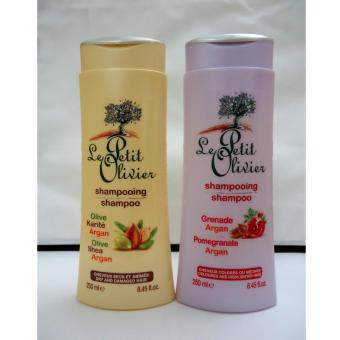 Le Petit Olivier Shampoo Duo-For Dry Damaged and Coloured Hair Price Philippines
