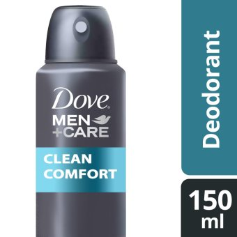 Harga DOVE MEN DEODORANT SPRAY CLEAN COMFORT 150ML