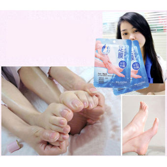 1Pair Baby Foot Peeling Renewal Mask Remove Dead Skin Cuticles Heel - intl Price Philippines