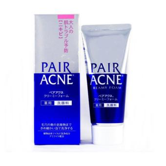 Harga Lion Pair Acne Creamy Foam Facial Washing Foam 80g