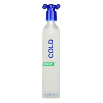 Harga Benetton Cold Eau de Toilette for Men 100ml