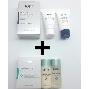IOPE Derma Trouble Gift Set with IOPE Perfect Cleansing Kit Korean Cosmetics Price Philippines