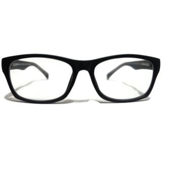 The Classic Premium Computer Glasses (Chrome Black) with Anti-blue, Anti-fatigue and Anti-radiation with Clear Lens, Metal Core Technology, Spring Hinges for Price Philippines
