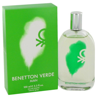 Harga Benetton Verde Man Eau De Toilette for Men 100ml
