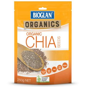 Harga Bioglan Organic Chia 250g (Australian Certified Organic) Supports heart and skin health, good digestion, weight loss and long lasting energy