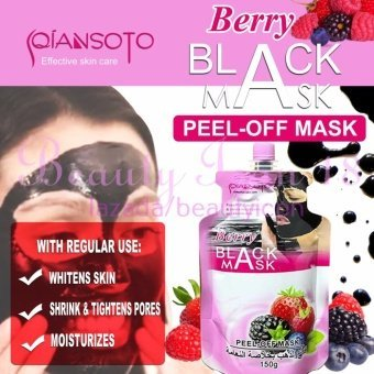 Harga Berry Black Peel - Off Mask 150g