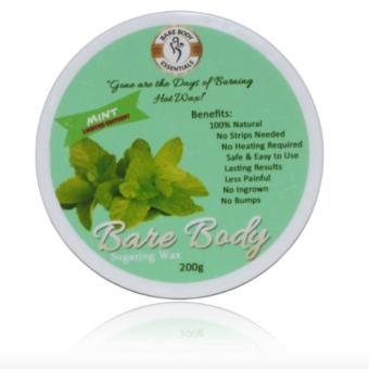 Bare Body Sugaring Wax Hair Removal 200g (Mint) Price Philippines