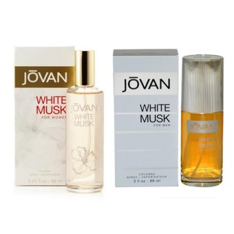 Harga Jovan White Musk Men & Women Set