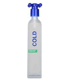 Harga United Colors of Benetton Cold Eau de Toilette for Men 100ml