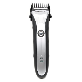 Pritech PR-1186 Rechargeable Professional Hair Trimmer (Silver/Black) Price Philippines
