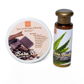 Bare Body Ph Sugar Paste Hair Removal 200g with Aloe Soothing Lotion 60ml (Cafe Mocha) Price Philippines