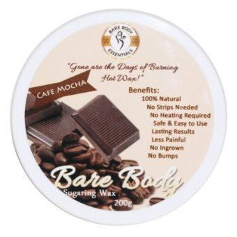 Bare Body Sugar Wax Cafe Mocha (200g) Price Philippines