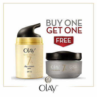 Olay Total Effects UV Gentle 50g with Free Olay Total Effects Night Cream 50g Price Philippines