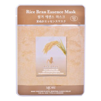 MJ Care Rice Bran Essence Face Mask 23g Price Philippines