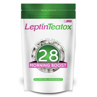 Harga Leptin Teatox Morning Boost 28-day Weight Loss Tea Detox (28 teabags)