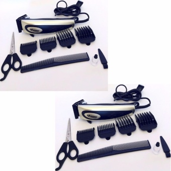 Harga Jinghao Hair Clipper JH-4613 (Color May Vary)Set of 2