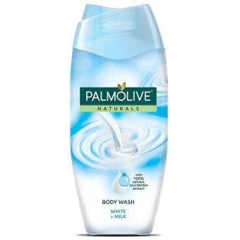 Harga Palmolive Naturals Body Wash WHITE + Milk 200ml