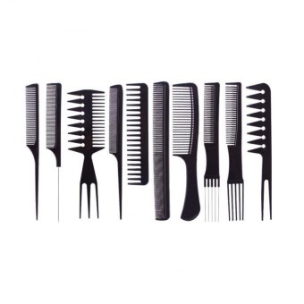 Harga 10 Pieces Professional Hair Styling Hair Dressing Comb