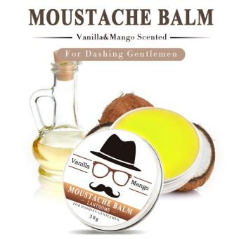 Organic Beard and Moustache Balm (Vanilla Mango Scented) 30g Price Philippines