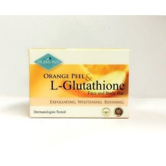 Harga Diamond Orange Peel & L-Glutathione Soap 150g