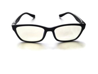 Harga The Brave Design Computer Glasses Anti-blue Light (Black)