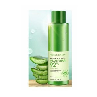 Harga Natural Skin Care Refresh and Moisture 92% Aloe Vera Emulsion 120ml