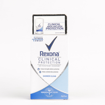 Harga Rexona Clinical Protection Shower