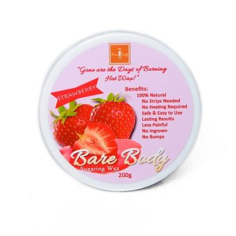 Bare Body Ph Sugar Paste Hair Removal 200g (Strawberry) Price Philippines